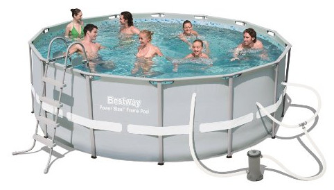 Power Steel Frame Pool Set from Bestway