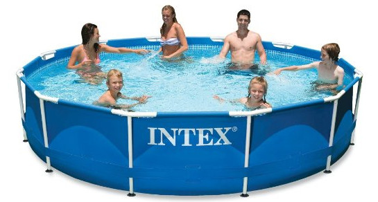 Metal Frame Pool Set from Intex