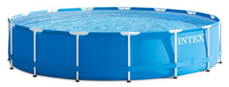 Metal Frame Round Above Ground Swimming Pool from Intex
