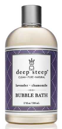 Lavender Chamomile Bubble Bath from Deep Steep