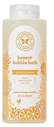Gentle Tangerine Dream Bubble Bath from The Honest Company