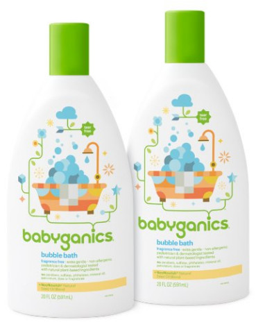 Baby Bubble Bath from Babyganics