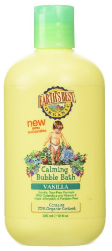 Calming Vanilla Bubble Bah from Earth's Best