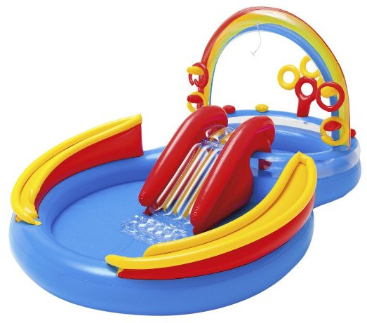 Rainbow Ring Inflatable Play Center from Intex