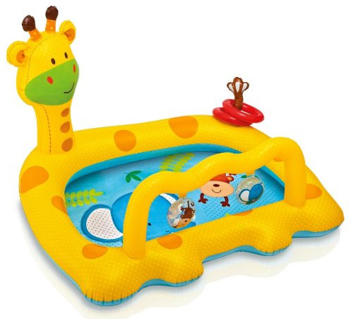 Smiley Giraffe Inflatable Baby Pool from Intex
