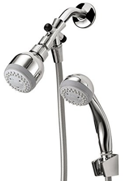 3-Setting Combination Showerhead Set
