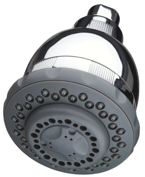 Wall-Mount Filtered Showerhead