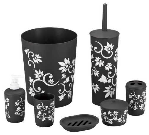 7 Piece Printed Bathroom Set from Blue Donuts