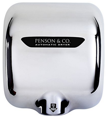 High Speed Dry Hot Stainless Steel Automatic Hand Dryer from PENSON & CO.