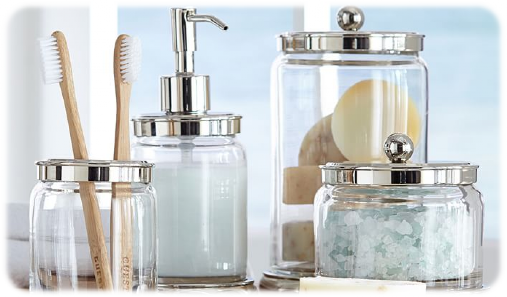 Best Bathroom Canisters U2013 A Simple Solution To Organizing Your Bathroom  Accessories