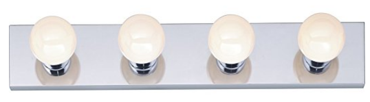 Four Light Vanity Strip from Nuvo