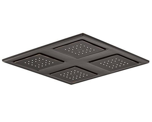 KOHLER K-98740-2BZ WaterTile Rain Overhead Showering Panel
