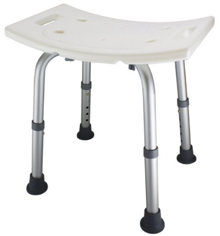 Adjustable Lightweight Shower Bench from Ez2care