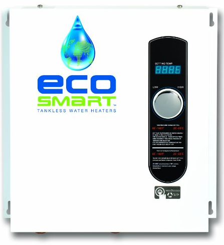 ECO 27 Electric Tankless Water Heater from EcoSmart