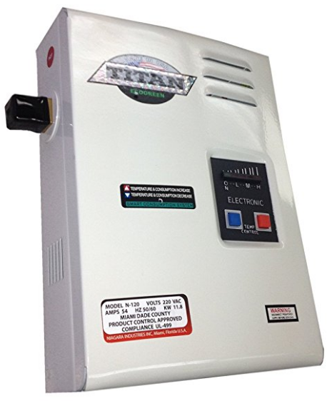 Electric Tankless Water Heater from Titan