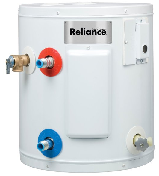 6 Gallon Compact Electric Water Heater from Reliance Products