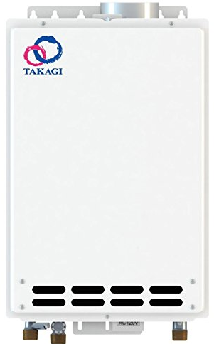 Indoor Propane Water Heater from Takagi
