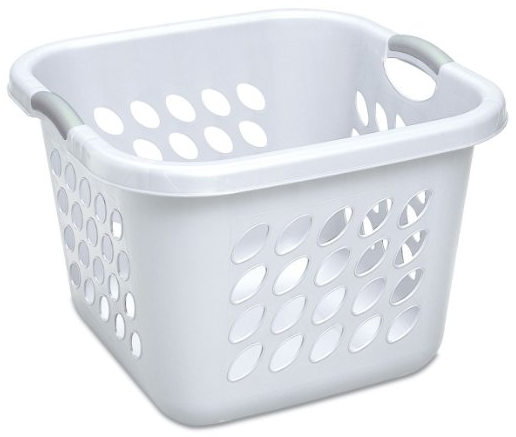 Ultra Square Laundry Basket from Sterilite
