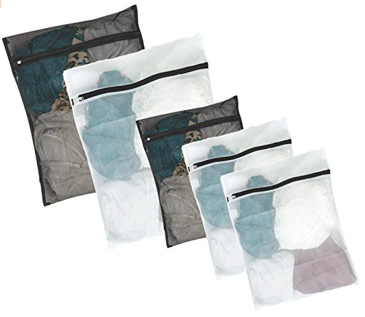 5 Pack Mesh Laundry Wash Bag from Kassa