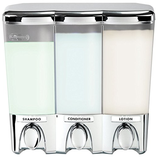 Clear Choice Three Chamber Shower Dispenser from Better Living