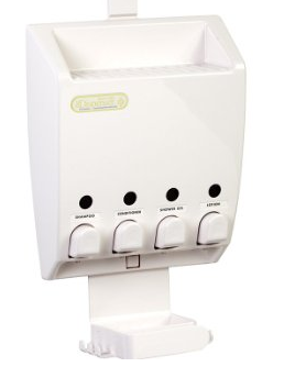 Four Chamber Dispenser and Caddy from Better Living