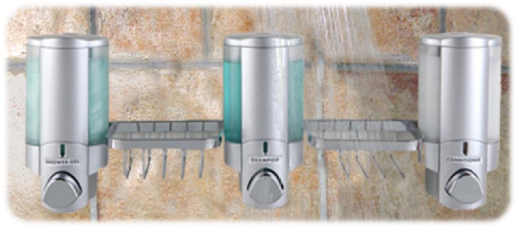 wr com zepfix steel brushed shop shower stainless dispenser