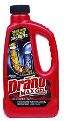 Professional Strength Drain Cleaner from Drano