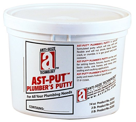 Professional Grade Plumber's Putty from Anti-Seize Technology