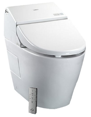 Washlet with Integrated Toilet from Toto