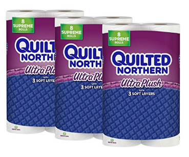 Ultra Plush Toilet Paper from Quilted Northern