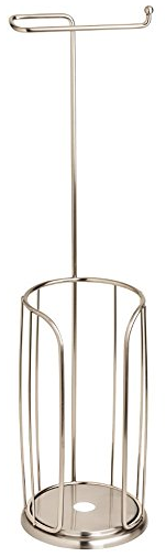 Freestanding Toilet Paper Holder with Reserve from Franklin Brass