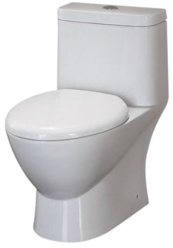 Modern Dual Flush Eco-Friendly Ceramic Toilet from EAGO