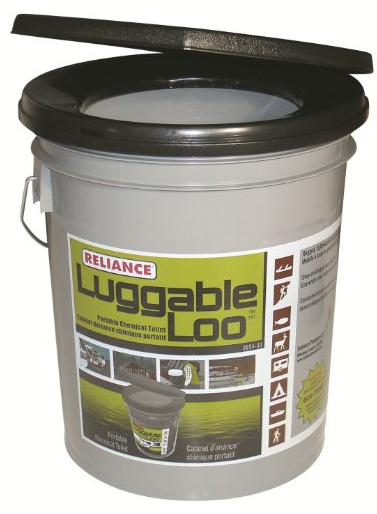 Luggable Loo Portable 5 Gallon Toilet from Reliance Products
