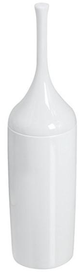 mDesign Plastic Toilet Bowl Brush and Holder from MetroDecor