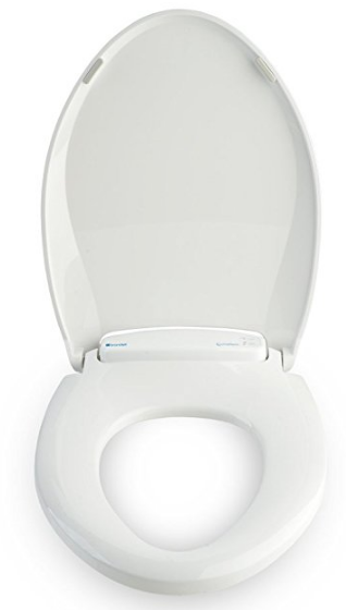 LumaWarm Heated Nightlight Round Toilet Seat from Brondell