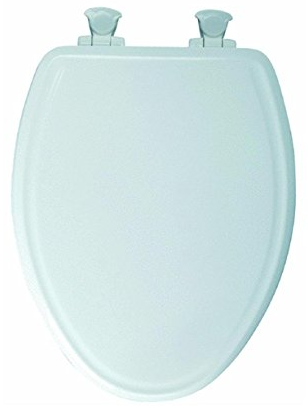 Slow-Close Molded Wood Toilet Seat from Mayfair