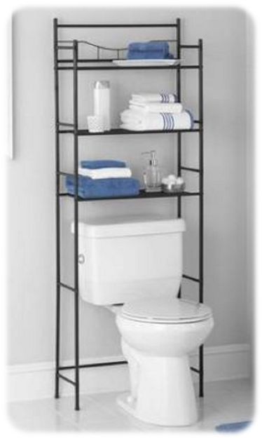 3-Shelf Bathroom Space Saver from Mainstays