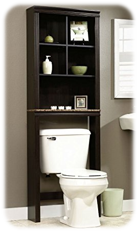Peppercorn Etagere Bath Cabinet from Sauder
