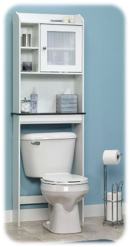 Caraway Etagere Bath Cabinet from Sauder