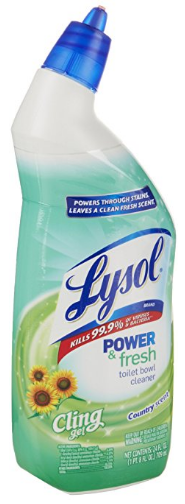 Clean & Fresh Toilet Bowl Cleaner from Lysol