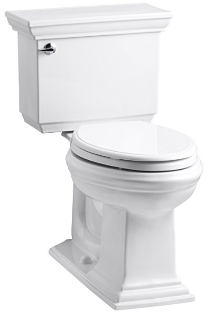 Memoirs Stately Comfort Height Two-Piece Elongated Toilet from Kohler