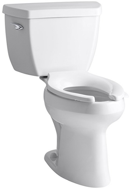 Highline Classic Pressure Lite Comfort Height Elongated Toilet from Kohler