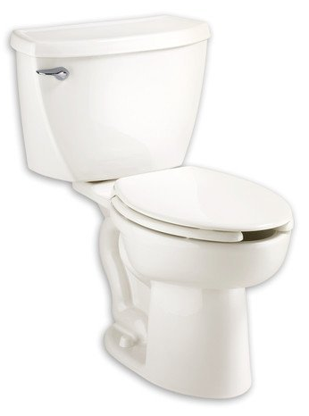 Cadet Right Height Elongated Pressure Assisted Two Piece Toilet from American Standard