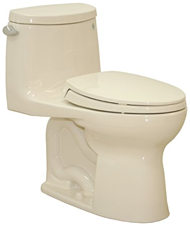 Ultramax II Het Double Cyclone One Piece Toilet with Sanagloss from Toto