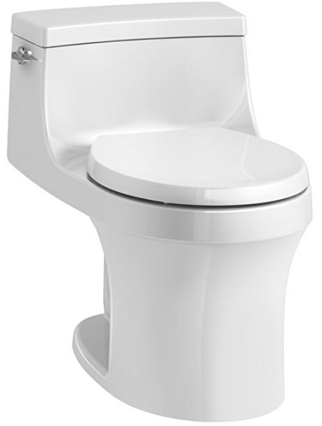 San Souci Round-Front Toilet from Kohler