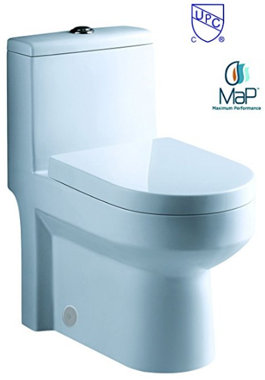 Galba Small Toilet from Luxury Modern Home