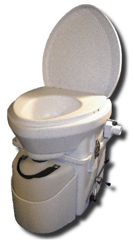 Self Contained Composting Toilet from Nature's Head