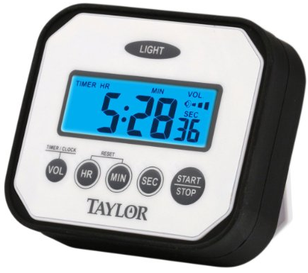 Pro Splash'n'Drop Digital Timer from Taylor Precision Products