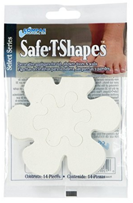 Select Safe-T-Shapes from Bathtub Decals from Compac