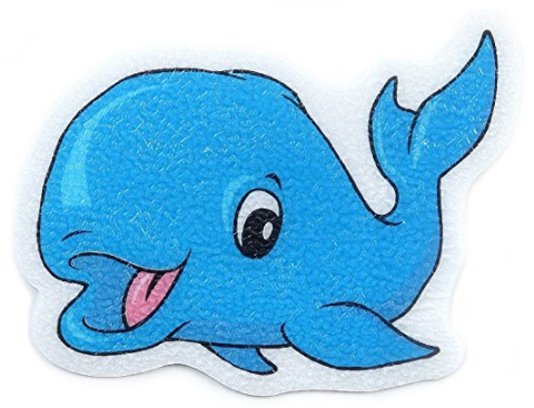 Blue Whales Bathtub Safety Decals from CL Global